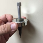 The Pen Plotter should be able to freely slide into the holder.